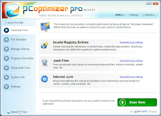 Screenshot PC Optimizer Pro 6.4.2.4 Full Version
