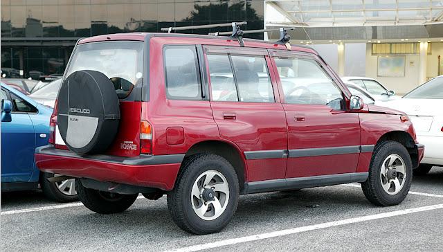 Spesifikasi Dan Harga Mobil Suzuki Escudo
