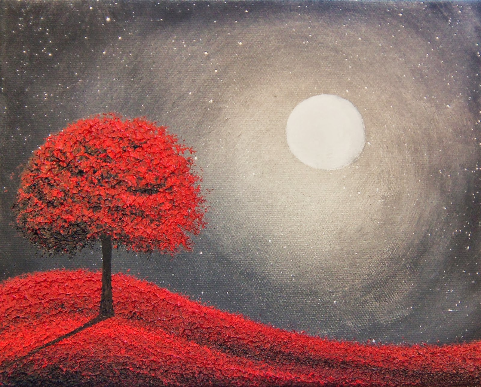 Bing art by rachel bingaman starry sky dark art black for Paint a dark picture
