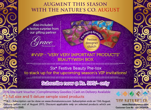 The Nature's Co August Pre-Festive #VVIP BeautyWish Box, The nautres co, organice skincare, paraben free skincare india online, delhi blogger, indian beauty blog, august beauty blog, beauty , fashion,beauty and fashion,beauty blog, fashion blog , indian beauty blog,indian fashion blog, beauty and fashion blog, indian beauty and fashion blog, indian bloggers, indian beauty bloggers, indian fashion bloggers,indian bloggers online, top 10 indian bloggers, top indian bloggers,top 10 fashion bloggers, indian bloggers on blogspot,home remedies, how to