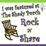 Shady Porch Features