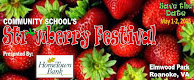 Community School Strawberry Festival May 1-3
