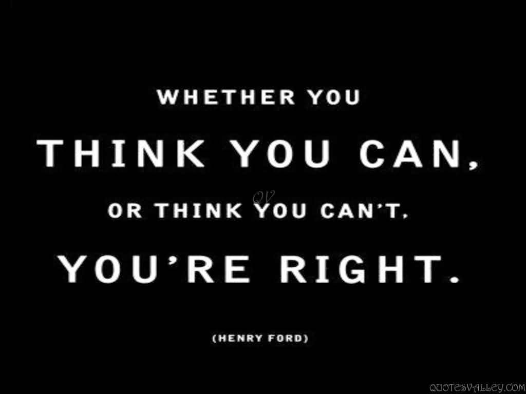 whether you think you can, fitness motivation