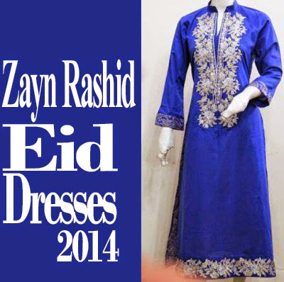 Zayn Rashid Eid Dress Collection 2014- 2015 | Elegant Eid Range