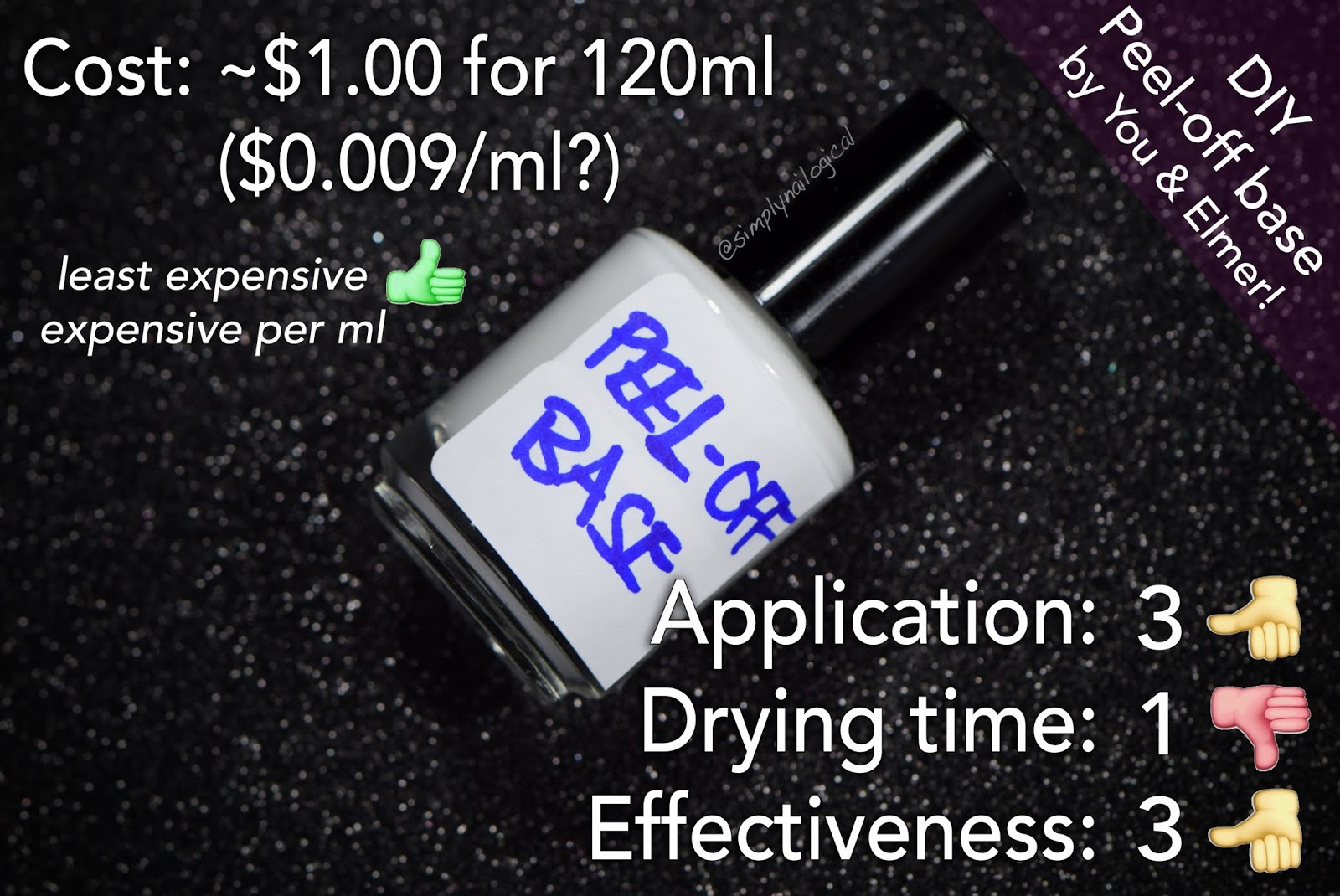 Peel off base coat used as cuticle barrier review