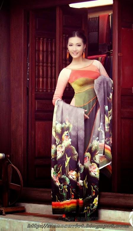 Hot girls việt nam với áo dài truyền thống phần 4 22