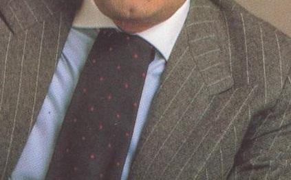 Cansado del nudo cl sico de la corbata dictadora de la for Nudos de corbata modernos