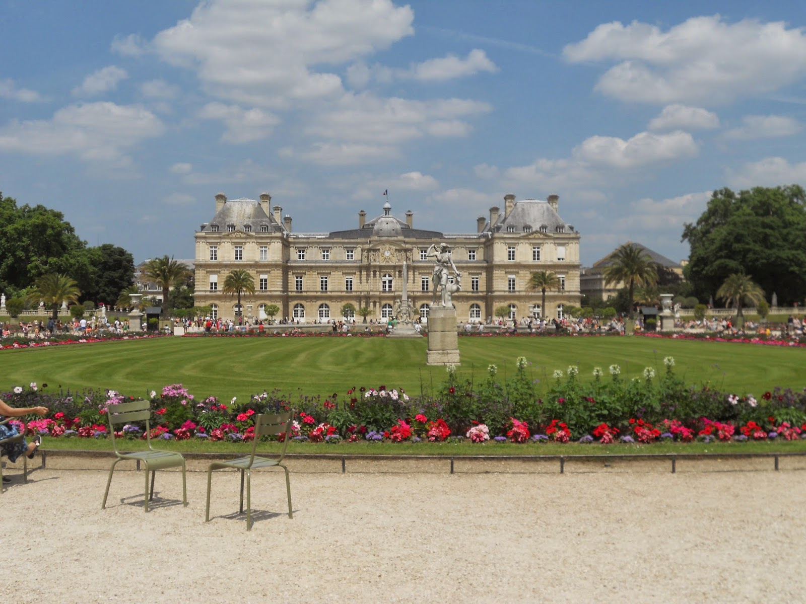 the beauty breakdown le jardin du luxembourg