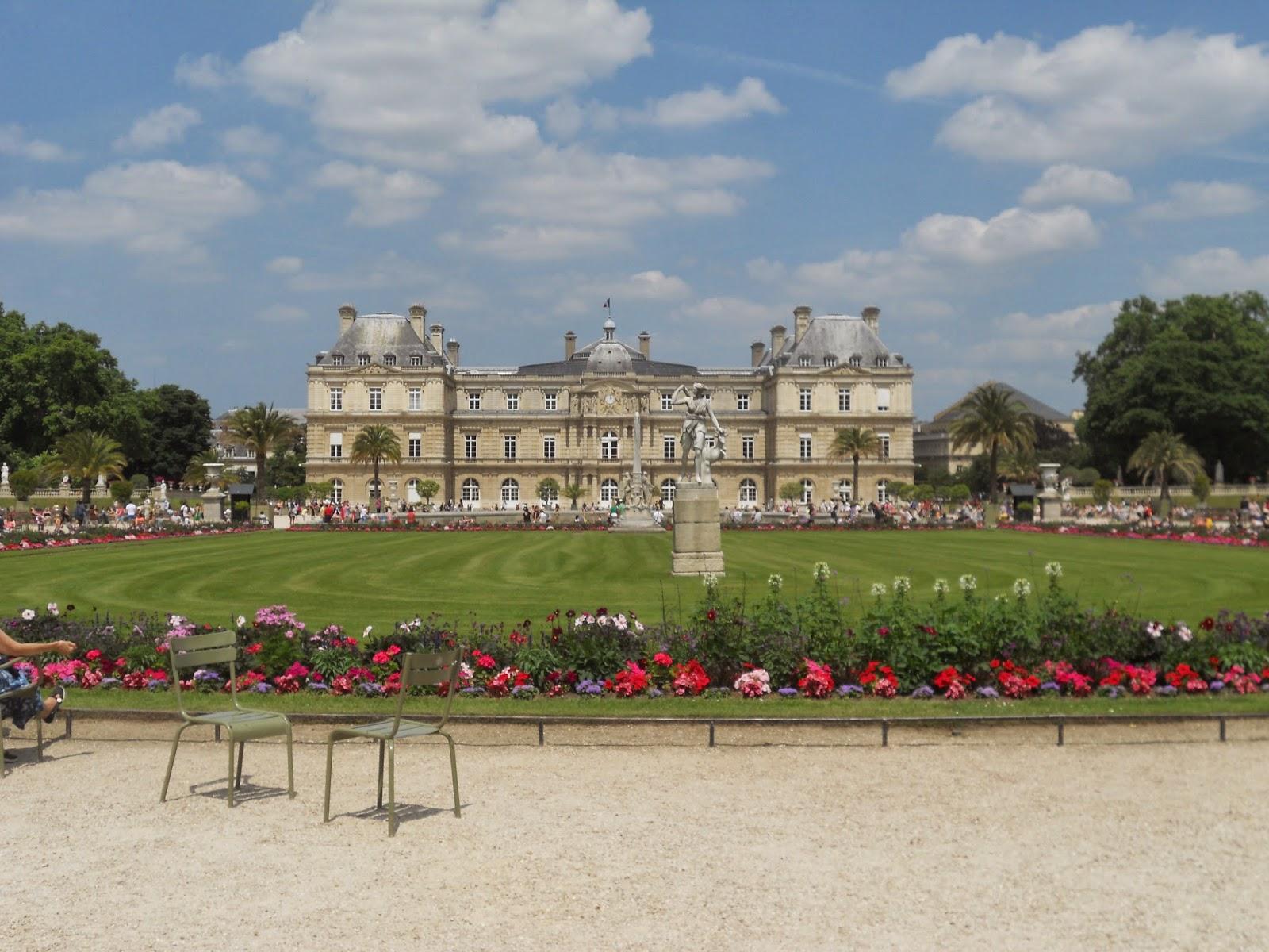 the beauty breakdown le jardin du luxembourg