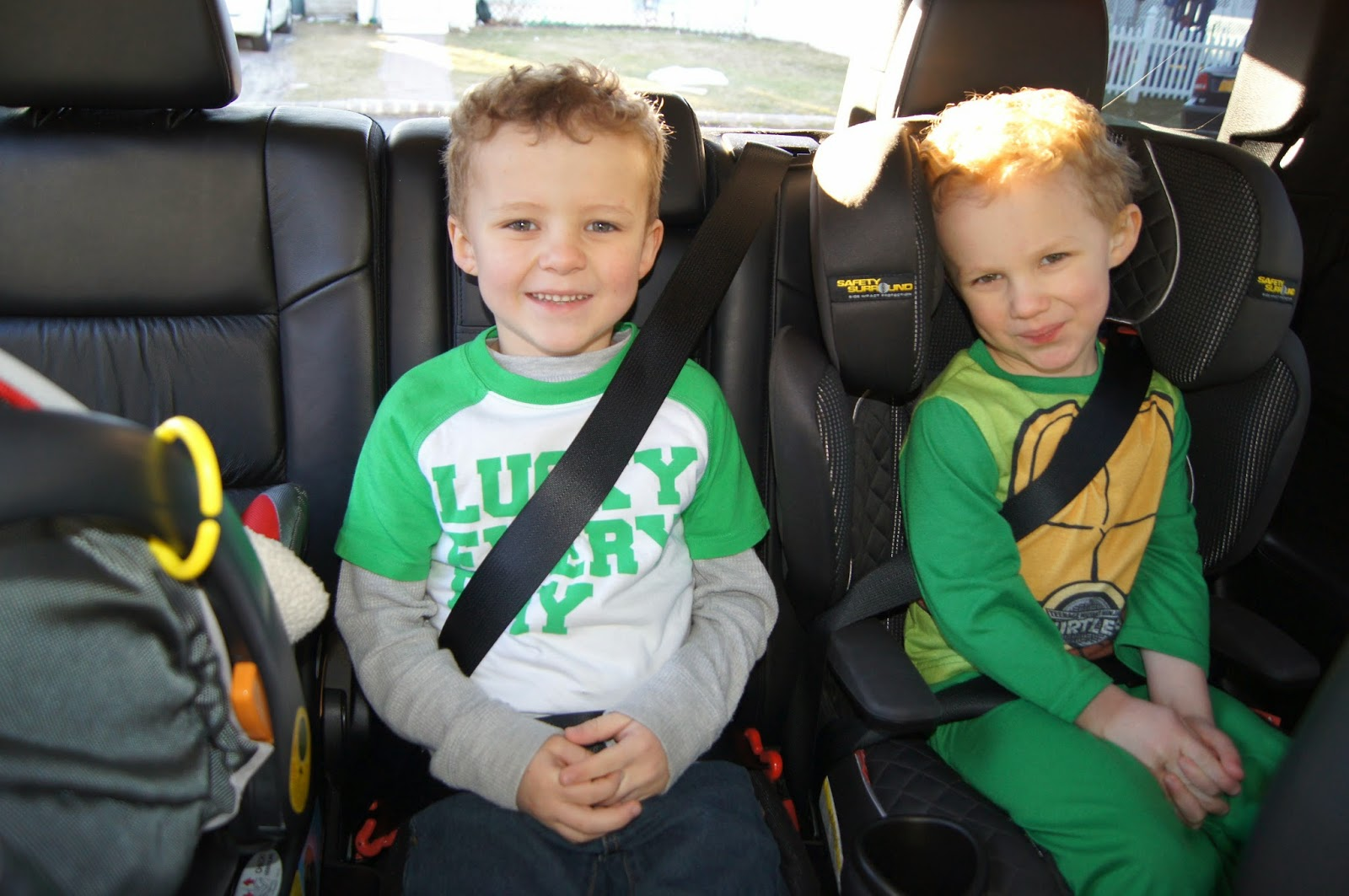 3 car seats in jeep