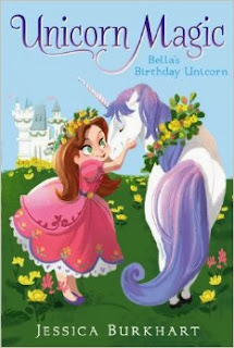 bella's birthday unicorn cover