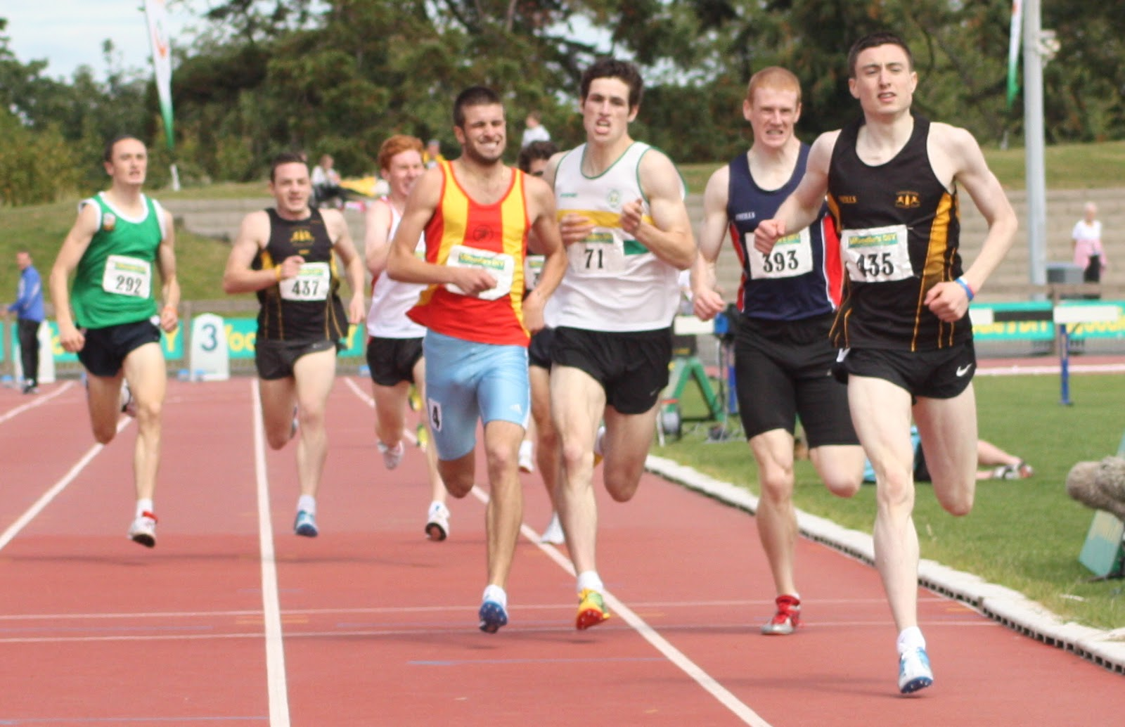 Mark English wins last year's national Senior 800 metres
