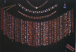 Bead clock of Queen Pu-abi, from the royal Sumerian graves at Ur, 2500 B.c. Length of longest strand, 36.2 cm. University of Pennsylvania, Philadelphia