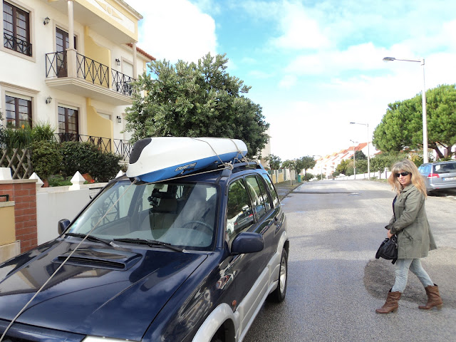 transporting a kayak on a car