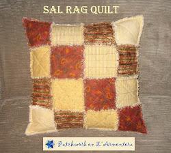 Sal Cojín Rag Quilt
