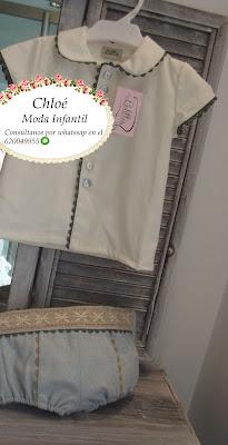 camisa y pantalosn niño