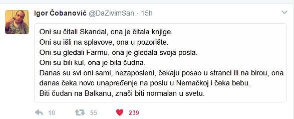 ИГОР ЧОБАНОВИЋ