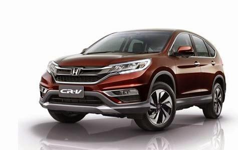 Honda CRV Facelift