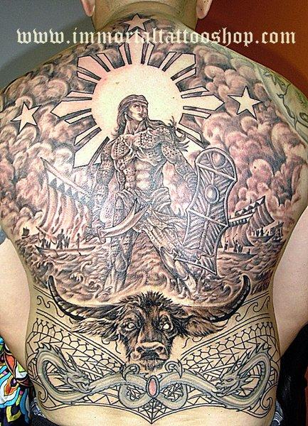 immortal tattoo manila philippines by frank ibanez jr