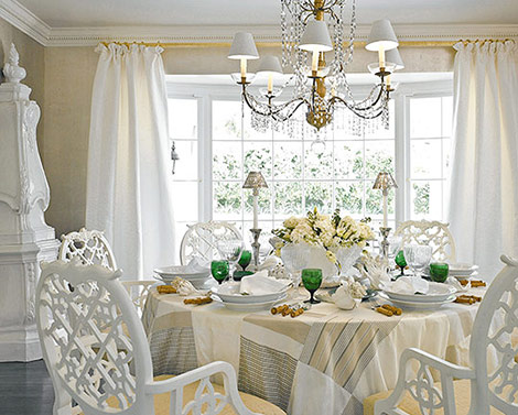 Miss cherry enero 2013 for Romantic dining room ideas