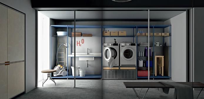 Azul blue lavaderos o cuartos de plancha - Cuarto de plancha ...