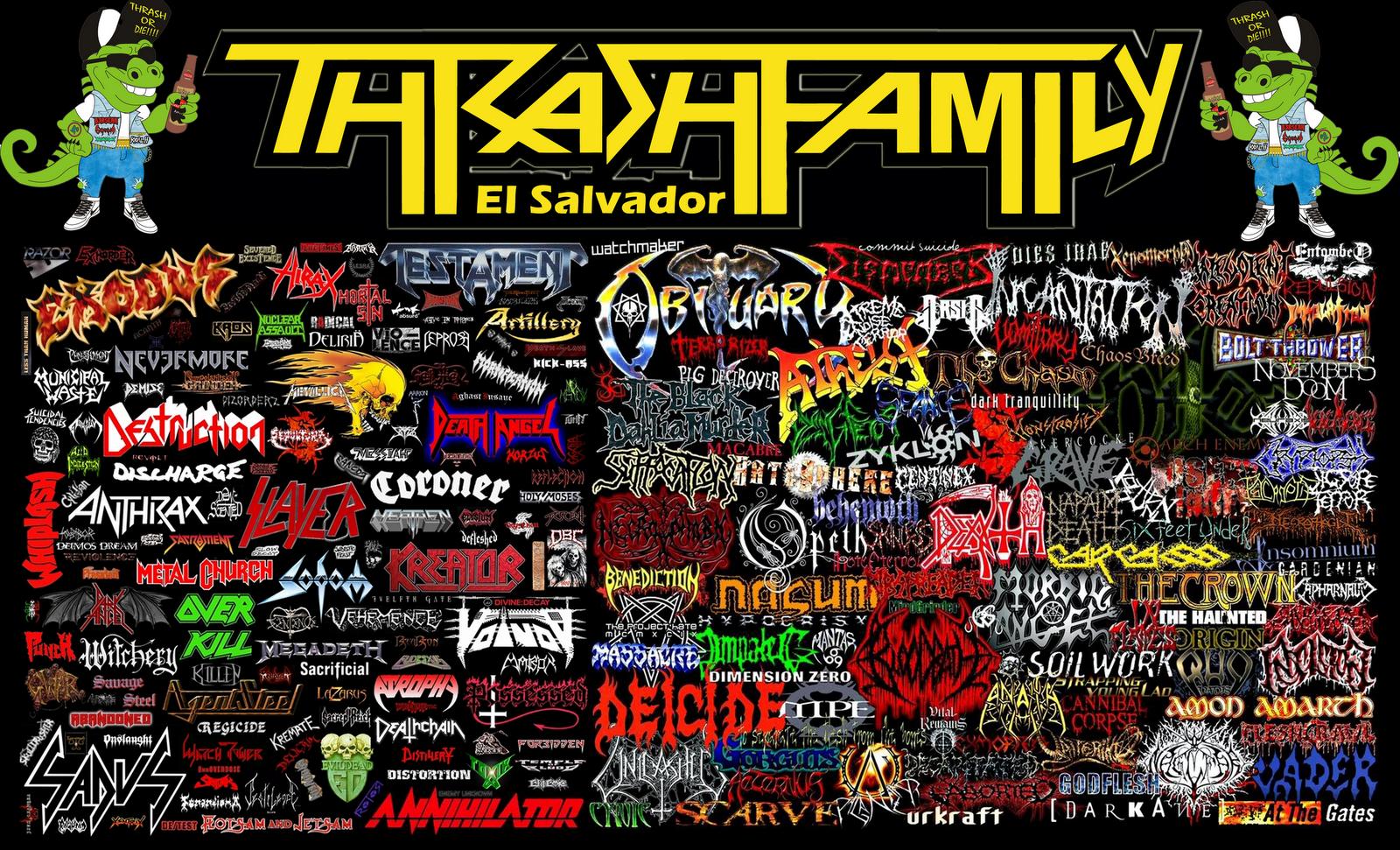 Thrash Family El Salvador