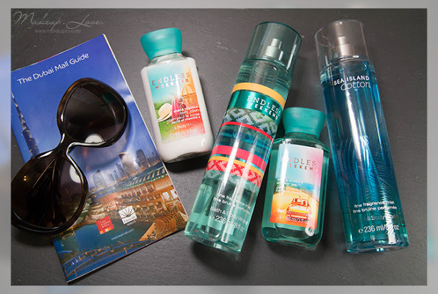 dubai beauty haul bath and bodyworks