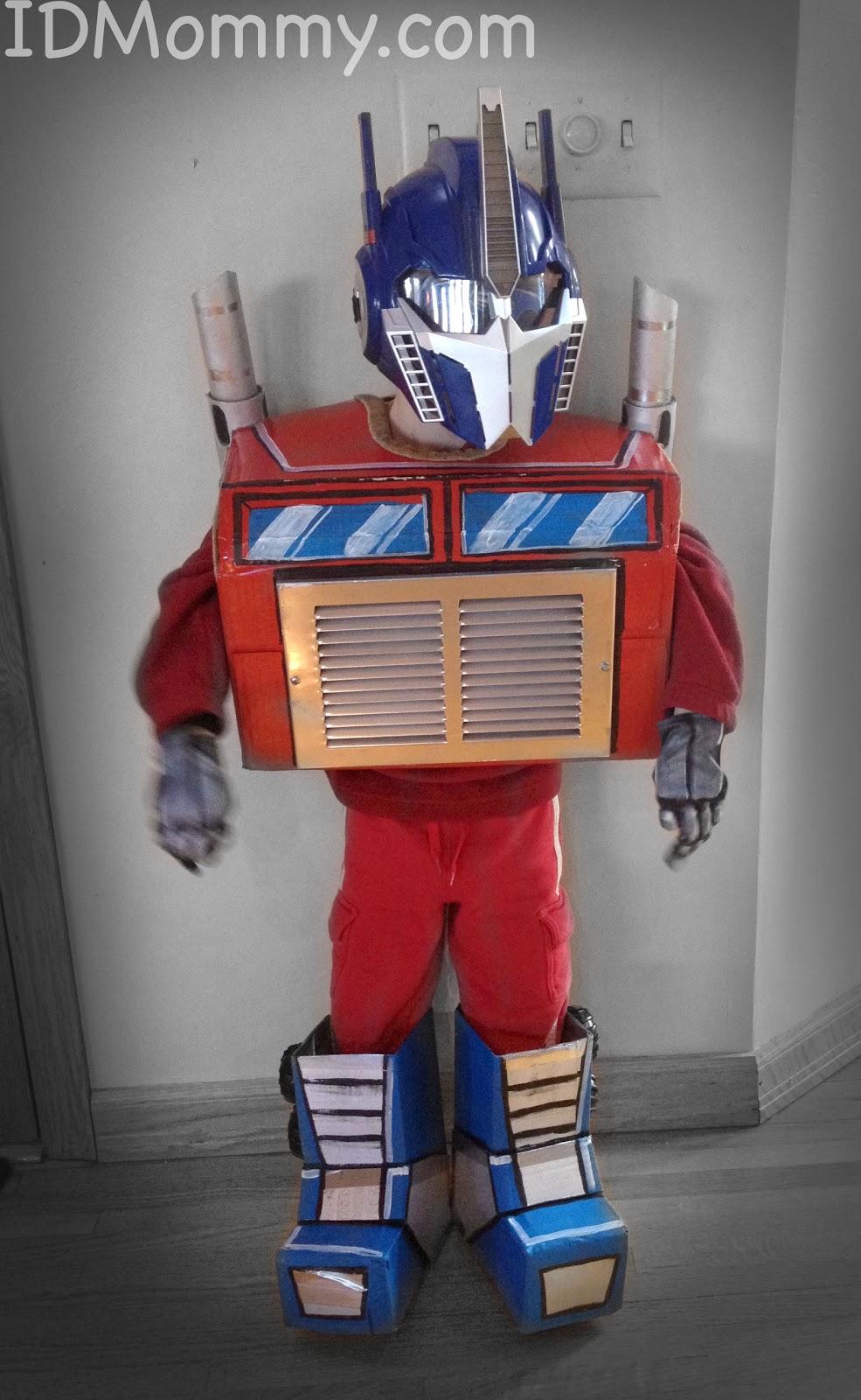 Transformer Optimus Prime Face Paint