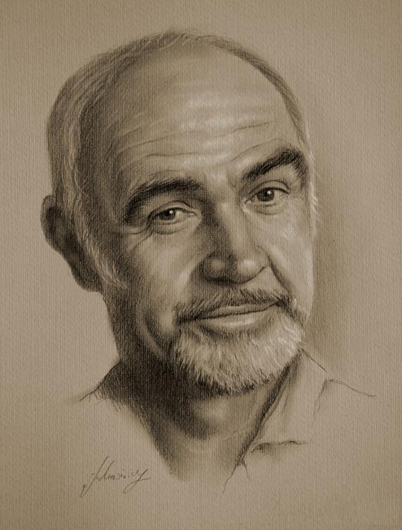 famous celebrity pencil drawings