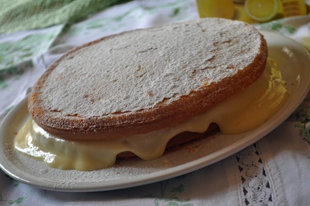 torta soffice al limone polenghi con crema