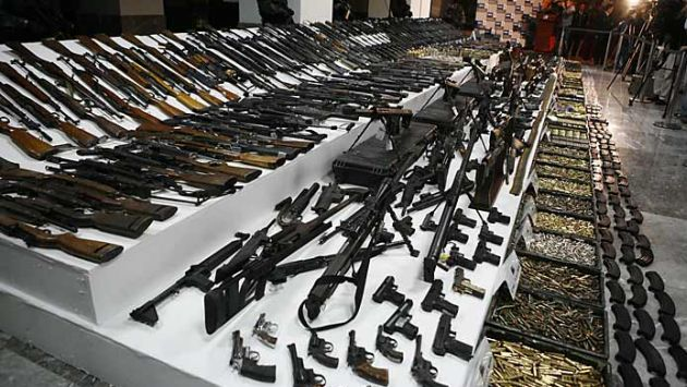 Nigeria signed the Arms Trade Treaty
