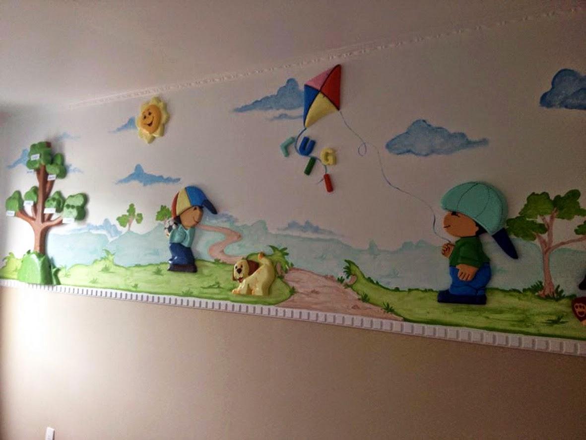 Arte Poesia Decoração Cenografia Decoração de quarto de bebê, infantil Meni