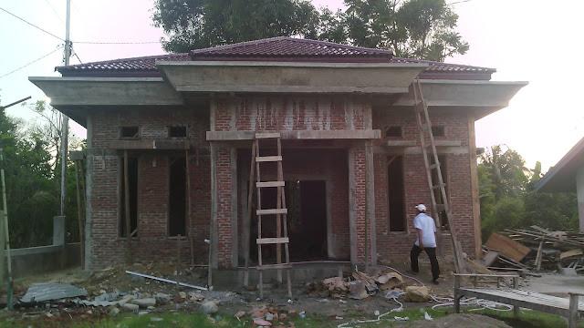 Gambar Kantor Geuchik Gampong Sentosa Kemukiman Mee Meuaneuk Kec. Grong-Grong Kab. Pidie - Aceh.