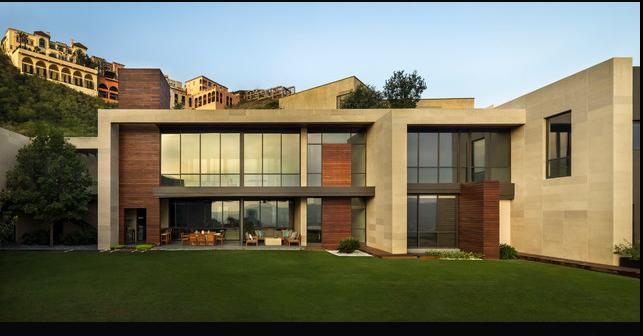 Fachadas casas modernas dise os de fachadas modernas for Casas disenos fachadas