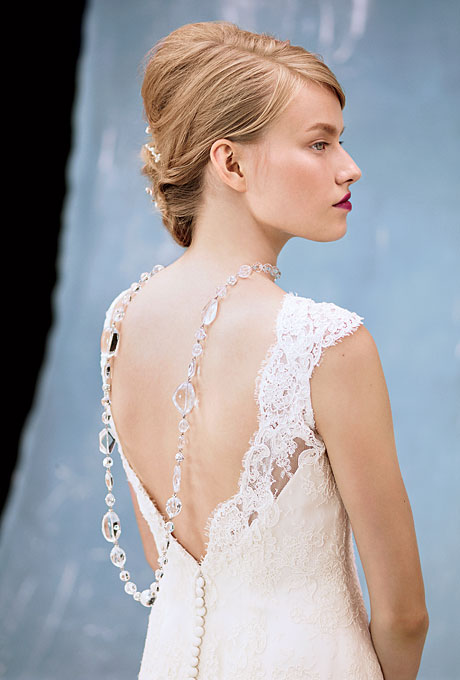 November 2012 for Wedding dresses with dramatic backs