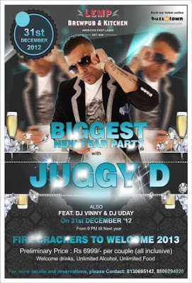 Juggy D Performing Live at Lemp on New Year Eve