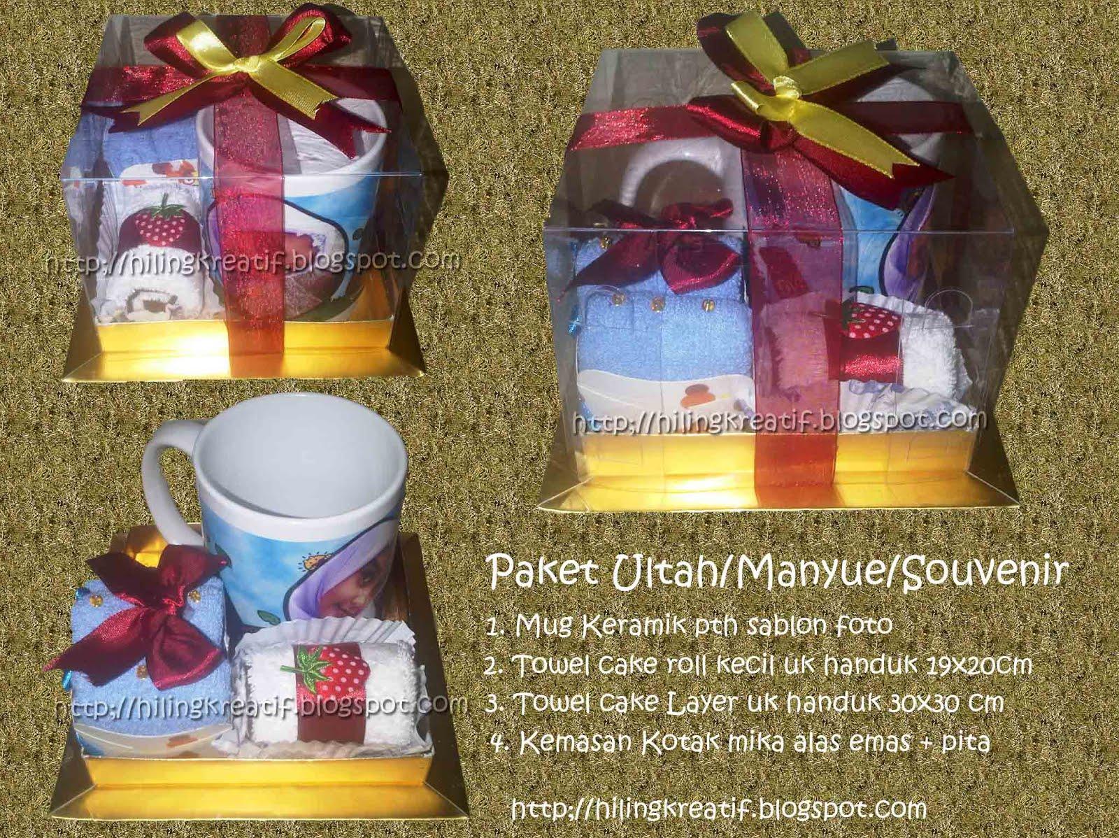 Paket Souvenir Ultah Souvenir Manyue Souvenir Anak Towel Cakemug