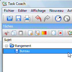 capture d'écran de Task Coach