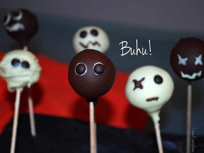 Cake Pops Rezept Halloween Geister