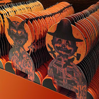 A large collection of limited-edition Halloween characters getting ready to ship for the 2015 season.
