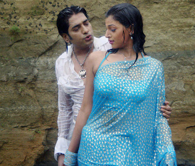Borsha and Ananta Jalil in a flim