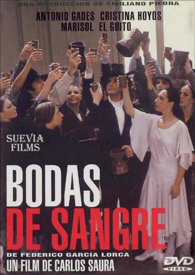 Bodas de sangre es una obra de teatro dramática de Federico García Lorca, escrita en 1931 y representada por primera vez en 1933, y posteriormente fue