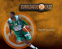 Euroleague 2K12 Startup Screen