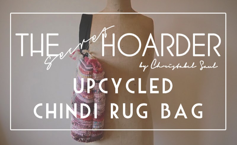 Diy Upcycle Chindi Rug Bag The Secret Hoarder