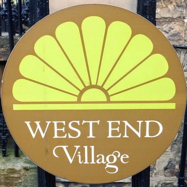 édimbourg edinburgh scotland écosse new town west end