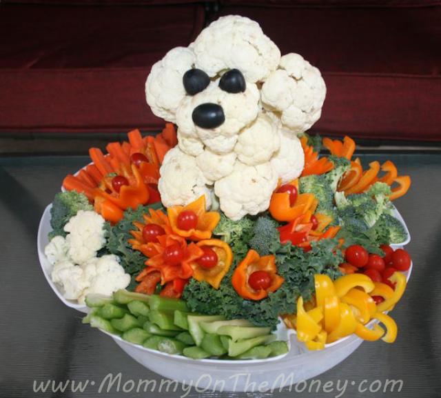 Veggie Puppy Platter