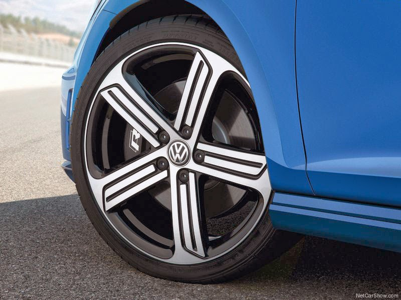 Volkswagen Golf R - Rodas Jantes de 2014