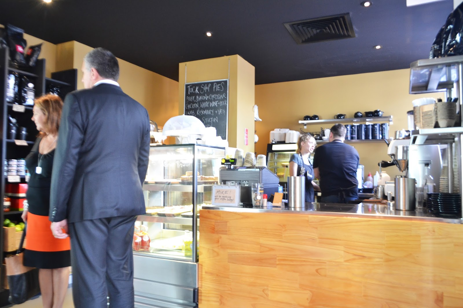 Tuck In Cafe Canton Opening Times