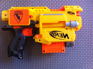 Nerf, mod, flywheel, barricade, motor, recon, barricon, air zone, power strike 48m, motor, replacement, voltage, trustfire,