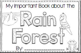 Teaching's a Hoot!: Rain Forest Fun!